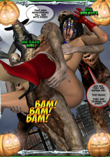 Ms Americana and Got Gal- Nightmare Witch image 13