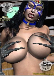 Ms.Americana vs. The Mischief- Bots image 13
