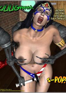 Ms.Americana vs. The Mischief- Bots image 14