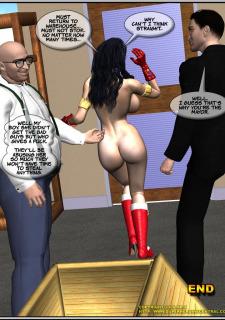 Ms.Americana vs. The Mischief- Bots porn comics 8 muses