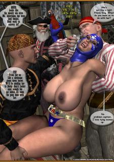 Ms. Americana vs. Pirates of the High Seas image 25
