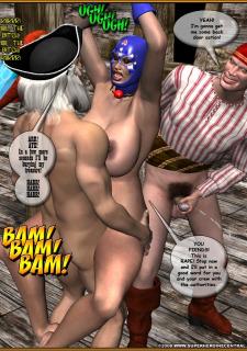Ms. Americana vs. Pirates of the High Seas image 30