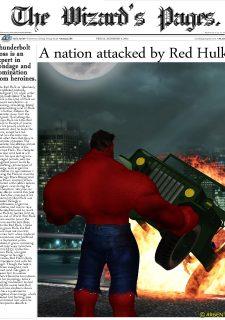 Ms. Marvel -The Return of Red Hulk image 3