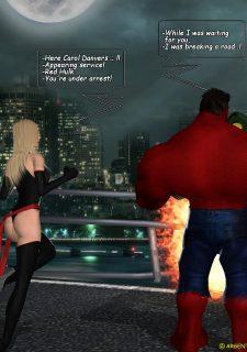 Ms. Marvel -The Return of Red Hulk image 4
