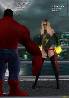 Ms. Marvel -The Return of Red Hulk image 6