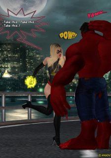 Ms. Marvel -The Return of Red Hulk image 7