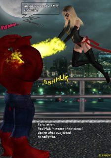 Ms. Marvel -The Return of Red Hulk image 9