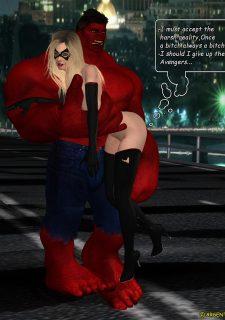 Ms. Marvel -The Return of Red Hulk image 28