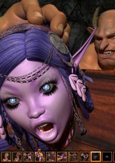 Night Elf In Trouble- Zuleyka image 32