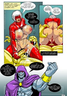 Omega Fighters 11-12 porn comics 8 muses