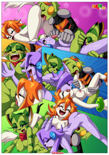 Palcomix- Watching Movie With Friends [Freedom Planet] porn comics 8 muses