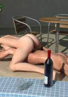 Poolside fuck with mother image 18