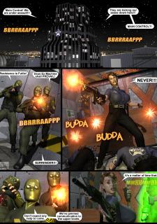 Power Gal in Mind Games # 3-3D Superheroine Central image 02