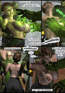 Power Gal in Mind Games # 3-3D Superheroine Central image 04