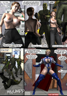 Power Gal in Mind Games # 3-3D Superheroine Central image 06