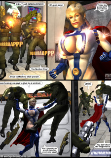 Power Gal in Mind Games # 3-3D Superheroine Central image 07