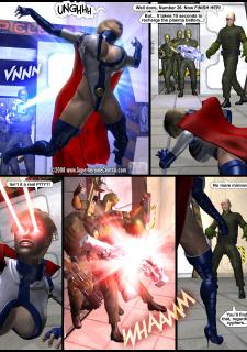 Power Gal in Mind Games # 3-3D Superheroine Central image 08