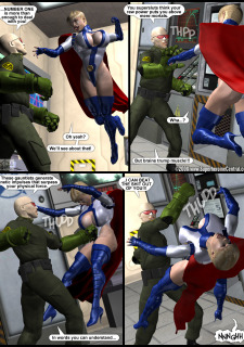 Power Gal in Mind Games # 3-3D Superheroine Central image 09