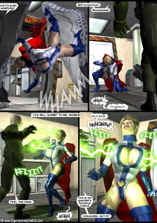 Power Gal in Mind Games # 3-3D Superheroine Central image 10