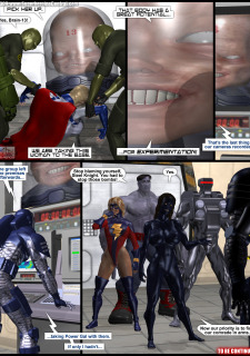 Power Gal in Mind Games # 3-3D Superheroine Central image 21