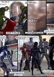Power Gal in Mind Games # 3-3D Superheroine Central image 21