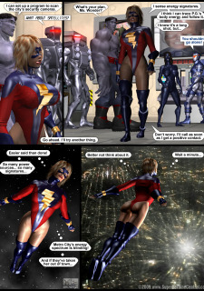 Power Gal in Mind Games # 3-3D Superheroine Central image 22