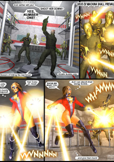 Power Gal in Mind Games # 3-3D Superheroine Central image 25