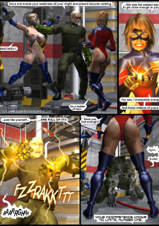 Power Gal in Mind Games # 3-3D Superheroine Central image 28