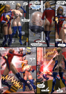 Power Gal in Mind Games # 3-3D Superheroine Central image 30