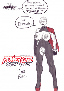 Power Girl – Power Slut porn comics 8 muses