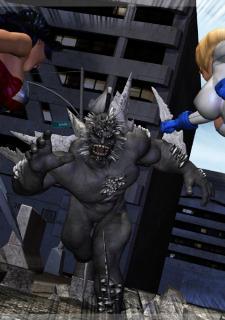 Power Girl-Wonder Woman Doomsday – Mongo Bongo image 02
