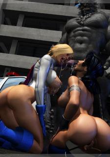 Power Girl-Wonder Woman Doomsday – Mongo Bongo porn comics 8 muses