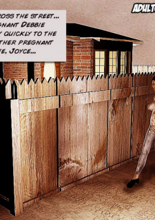 Preggo Housewives Adultcomics Club image 06