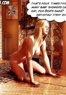 Preggo Housewives Adultcomics Club image 07