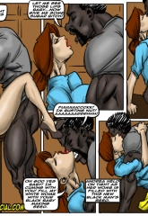 Prison Story- illustrated interracial image 21