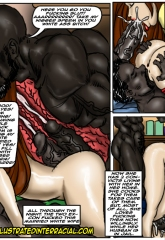 Prison Story- illustrated interracial image 27