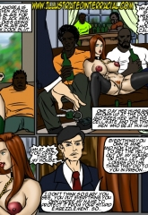 Prison Story- illustrated interracial image 38