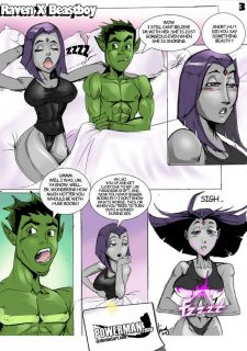 Raven x Beastboy (Teen Titans) image 3
