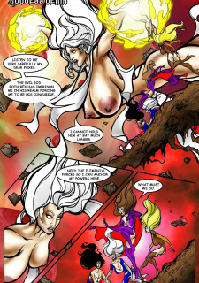 Rescue A Goddess- Superheroine Central image 03