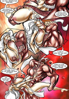 Rescue A Goddess- Superheroine Central image 06