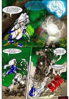 Rescue A Goddess- Superheroine Central image 14