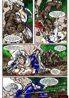Rescue A Goddess- Superheroine Central image 15