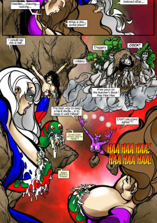 Rescue A Goddess- Superheroine Central image 32