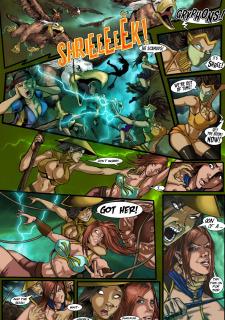 Sanderson Step Sisters Issu. 9 Swamp Princess image 04