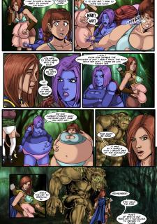 Sanderson Step Sisters Issu. 9 Swamp Princess image 11