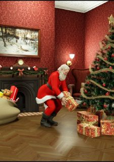 Santa is Cumming- Blackadder image 02