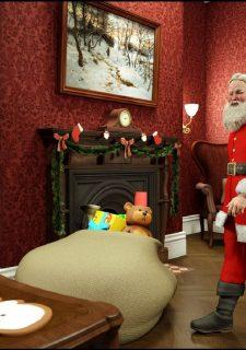 Santa is Cumming- Blackadder image 03
