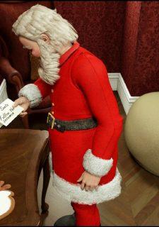 Santa is Cumming- Blackadder image 04