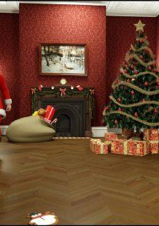 Santa is Cumming- Blackadder image 05