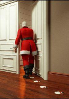 Santa is Cumming- Blackadder image 06